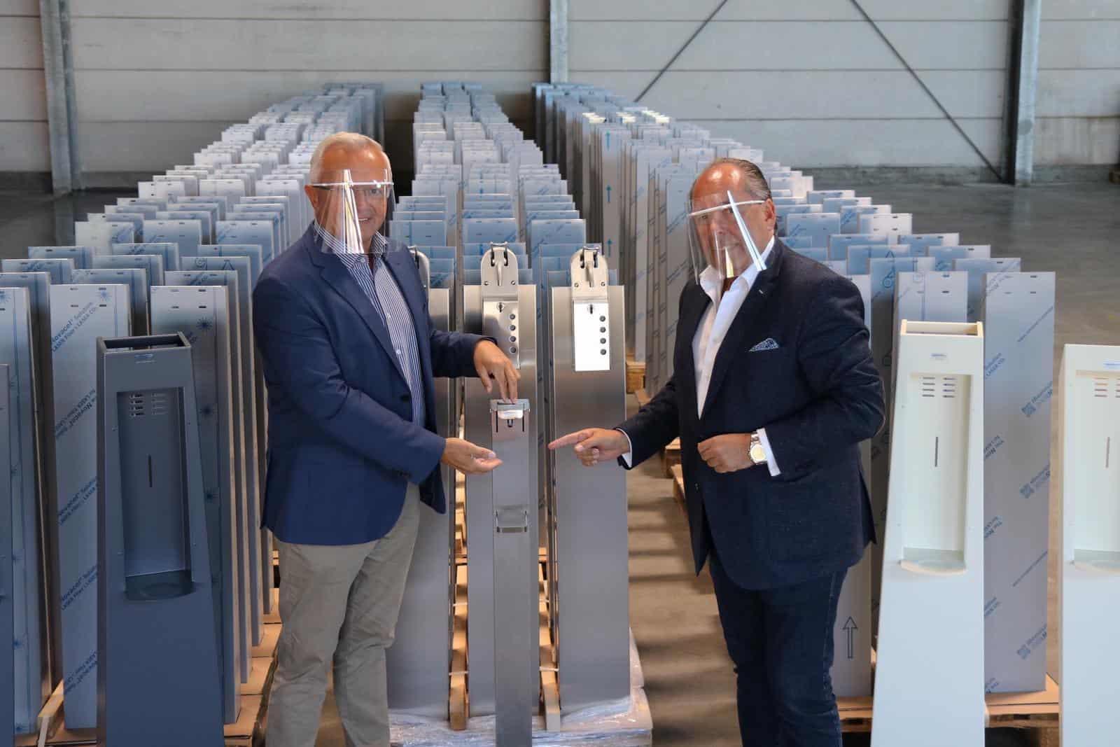 v.l. Achim Hallerbach und Peter Hack