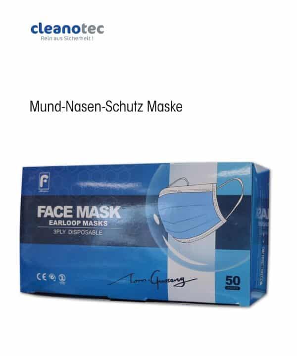 Mund Nasen Schutz Maske Einweg